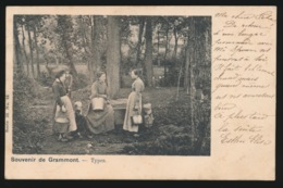 SOUVENIR DE GRAMMONT  TYPES - Geraardsbergen
