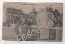 14 CALVADOS - CP SAINT AUBIN SUR MER LES ZEPHIRS PINSONNETTE PETIT MOUSSE LA CHIMERE - EDITION GODARD LOCATION DE VILLAS - Saint Aubin