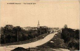 CPA MARTIGNE-Vue Route De LAVAL (420433) - France