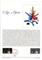 DOCUMENT FDC 1980 CHARLES DE GAULLE - Documenten Van De Post