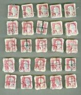 FRANCE * MARIANNE DE CARIS N°1263 - 2.500 Tembres. 25 BOTTES DE 100 TEMBRES - Etudes - Calendrier - Variétés - 1960 Marianne Van Decaris