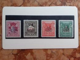 COLONIE ITALIANE - EGEO 1931 Congresso Eucaristico Nn. 30/33 Nuovi * Incompleta + Spese Postali - Egée