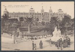 CPA [06] - NICE, Excelsior Hôtel Régina Et La Statue De La Reine Victoria - Cafés, Hôtels, Restaurants