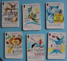 Jeu Des 7 Familles - Fables De La Fontaine - Bonux - Playing Cards (classic)