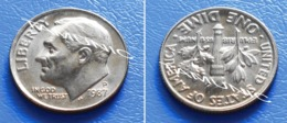 UNITED STATES USA 10 Cents (ONE DIME) 1987 P - ROOSEVELT - Bondsuitgaven
