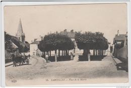 SARCELLES PLACE DE LA MAIRIE 1914 TBE - Sarcelles
