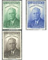 Ref. 614158 * HINGED * - URUGUAY. 1953. 5 CONGRESO POSTAL DE AMERICA Y ESPAÑA - Uruguay