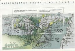 Allemagne Germany 1998 National Park Feuille Block Obl - Used Stamps