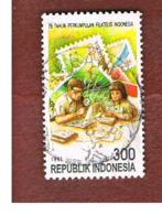 INDONESIA   - SG 2306 -  1997  PHILATELIC ASSOCIATION: CHILDREN & STAMPS  - USED ° - Indonesia