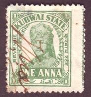 India-Kurwai State 1 Anna Court Fee/Revenue Type 25 #DF209 - India