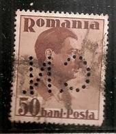 ROUMANIE   PERFORE  N°  487   OBLITERE - 1918-1948 Ferdinand, Carol II. & Mihai I.
