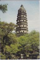 China, Cine - SUZHOU, Tiger Hill In Huqiu Shan, Pagode Of Yunyan-Tempels  Nice Stamp - Cina