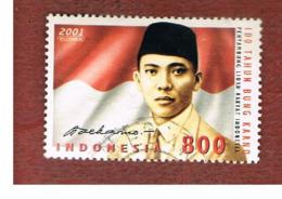 INDONESIA   - SG 2728    -    2001  AHMED SUKARNO BIRTH CENTENARY  - USED ° - Indonesia