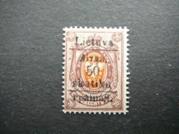 Grodno 50sk./70kop. # Lietuva Lithuania Litauen Lituanie Litouwen # 1919 MNH ** # - Lithuania
