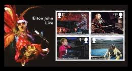 Great Britain 2019 Mih. 4436/39 (Bl.125) Music. Elton John MNH ** - 1952-.... (Elizabeth II)