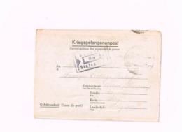Kriegsgefangenenpost.Expédié Du Stalag IV C à Acosse (Burdinne/Belgique).Censuré. (Dérouté à Acoz) - Guerre 40-45