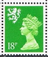 Scotland SG S61 1993 Machin 18p (1B) Unmounted Mint [16/15090/25D] - Regional Issues