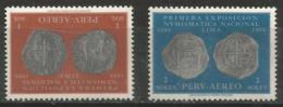 Peru -  1961 Numismatic Exhibition MNH** - Peru