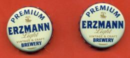"""Kazakhstan 2017. Beer Caps """"Erzmann"""". Lot Of Two Caps. - Other"""
