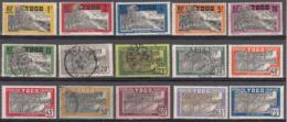 Togo 124 à 132 + 134 à 139 + 142 à 143  ** / * / ° - Togo (1914-1960)