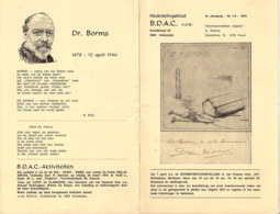 BDAC 1974 COLLABORATIE WO 1 EN 2 DR  BORMS 12.04.1946 + 10 Geboden Vlaamse Nationalist - Guerre 1939-45