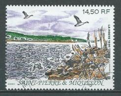 SAINT PIERRE ET MIQUELON 1991 . N° 549 Oblitéré . - St.Pierre Et Miquelon