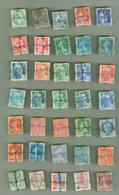 FRANCE * 35 Bottes Ancien De GANDON * SEMEUSE ++ * 3,500 TEMBRES *  Pour Nuances Et Variétés - 1906-38 Säerin, Untergrund Glatt