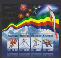Olympics 2014 - Ice Hockey - MOZAMBIQUE - S/S MNH - Winter 2014: Sochi