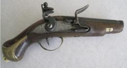 Petit Pistolet à Silex à Restaurer - Armes Neutralisées