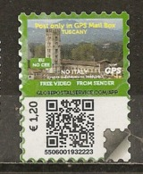 Italie Italy 201- Label Tuscany Obl - Marcofilia - EMA ( Maquina De Huellas A Franquear)