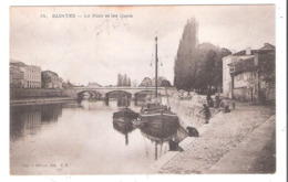 Sainte (17 - Charente Maritime ) Le Pont Et Les Quais - Saintes