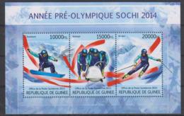 Olympics 2014 - Bob - GUINEA - S/S MNH - Winter 2014: Sochi