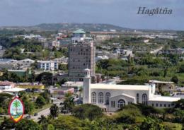 1 AK Guam * Blick Auf Hagåtña (früher Agana) - Die Hauptstadt Von Guam - Vorne Die Basilika Dulce Nombre De Maria * - Guam