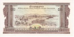 BILLETE DE LAOS DE 500 KIP DEL AÑOS 1968-1975 SIN CIRCULAR (BANKNOTE) UNCIRCULATED - Laos