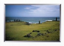 1 AK Easter Island - Rapa Nui - Osterinsel * Ansicht Dieser Insel - Gehört Zu Chile - Seit 1996 UNESCO Weltkulturerbe * - Rapa Nui