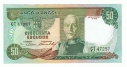 ANGOLA»50 ESCUDOS»1972»P-100»UNC - Angola