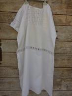 Lot De 9 Vetements Retro Vintage -coton Nylon Et Autre (robe Jupe Chemisier Chemise De Nuit Monogrammee - 1940-1970