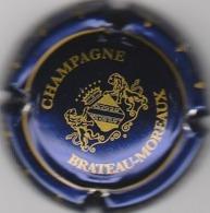 CAPSULE  MUSELET . CHAMPAGNE . BRATEAU-MOREAUX . LEUVRIGNY - Champagne