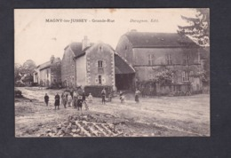 Magny Les Jussey (70) Grande Rue ( Animée Ed. Duragnon) - France