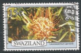 Swaziland. 1980 Flowers. 15c Used. SG 348A - Swaziland (1968-...)