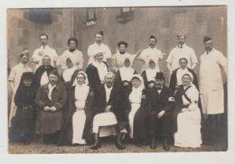 Militaria Carte-photo Hôpital Militaire De Moulins (Allier)?   Photo De B. Scharlowsky - Oorlog 1914-18