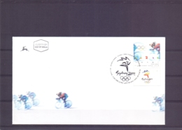 Israel - FDC -  Tel Aviv 25/7//2000  (RM14678) - Summer 2000: Sydney