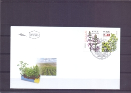 Israel - FDC -  Medicinal Herbs And Spices - 17/9/2008   (RM14734) - Medicinal Plants
