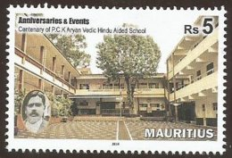 Mauritius 2018 100 Years Of Hindu School MNH - Hinduism