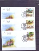 Israel - FDC - Villages 24/6/2003  (RM14793) - Briefe U. Dokumente