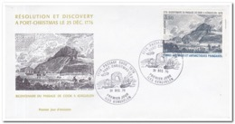 Frans Antarctica 1976, Bicentenaire Du Passage De Cook A Kerguelen - Franse Zuidelijke En Antarctische Gebieden (TAAF)