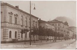 Lugano - Via Pretorio Col Palazzo Di Giustizia - TI Tessin