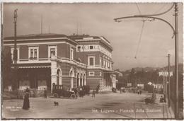 Lugano - Piazzale Della Stazione - & Old Cars - TI Tessin