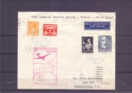 Nederland -premier Service Aérien France - Etats Unis -23/5/1939    (RM14914) - Poste Aérienne