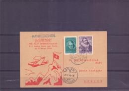 Nederland -  Per KLM - Openingsvlucht  Naar Zurich - 21/1/1946   (RM14918) - Luchtpost